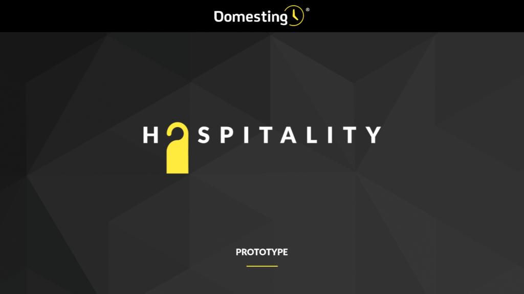 Hospitality - Domesting - Prototype cover - Patricia Saco